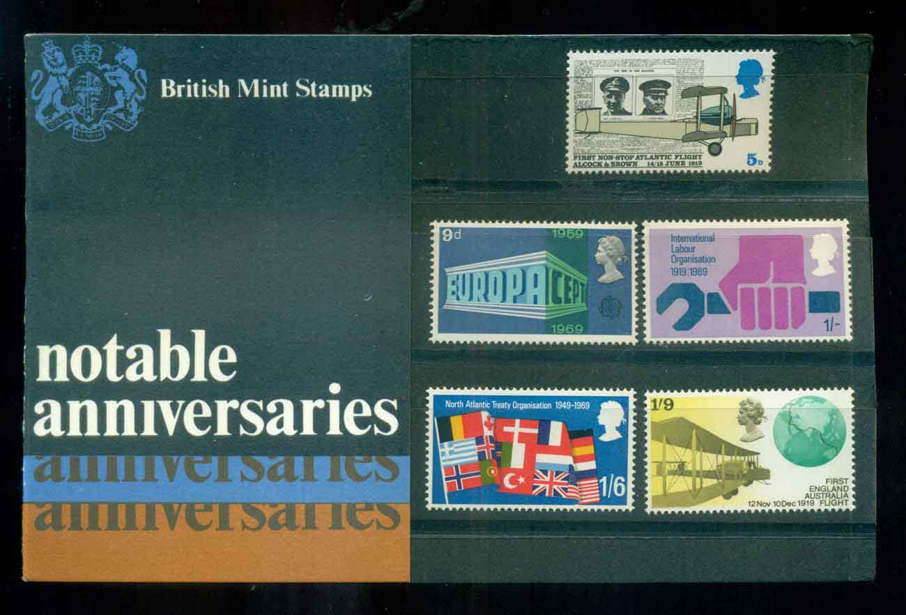 GB 1969 Notable Anniversaries POP lot51745