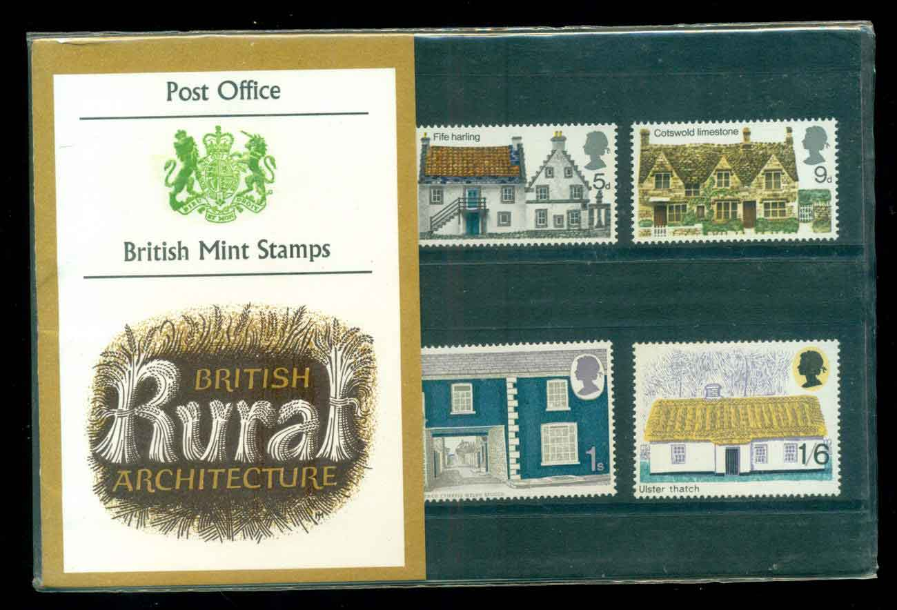 GB 1970 Rural Architecture ottages POP lot51746