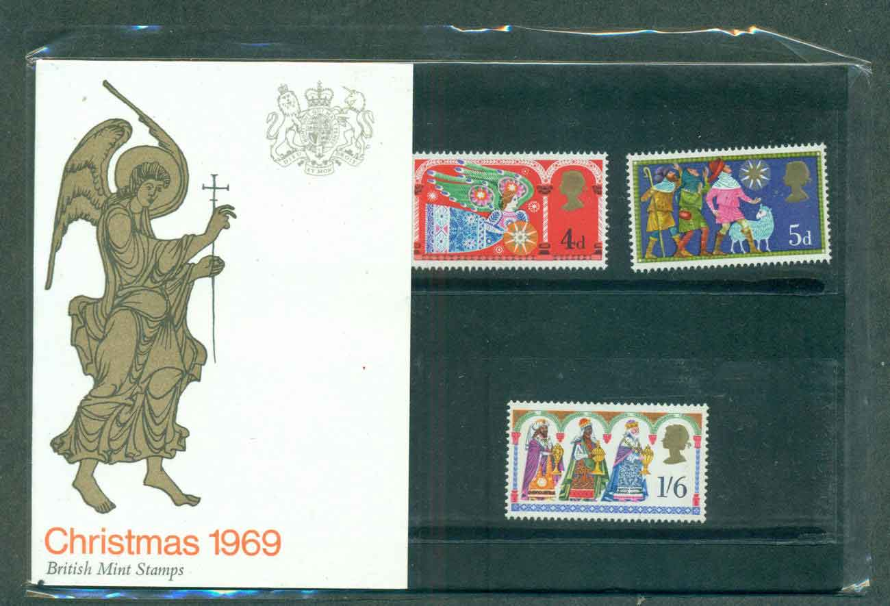 GB 1969 Xmas POP lot51749