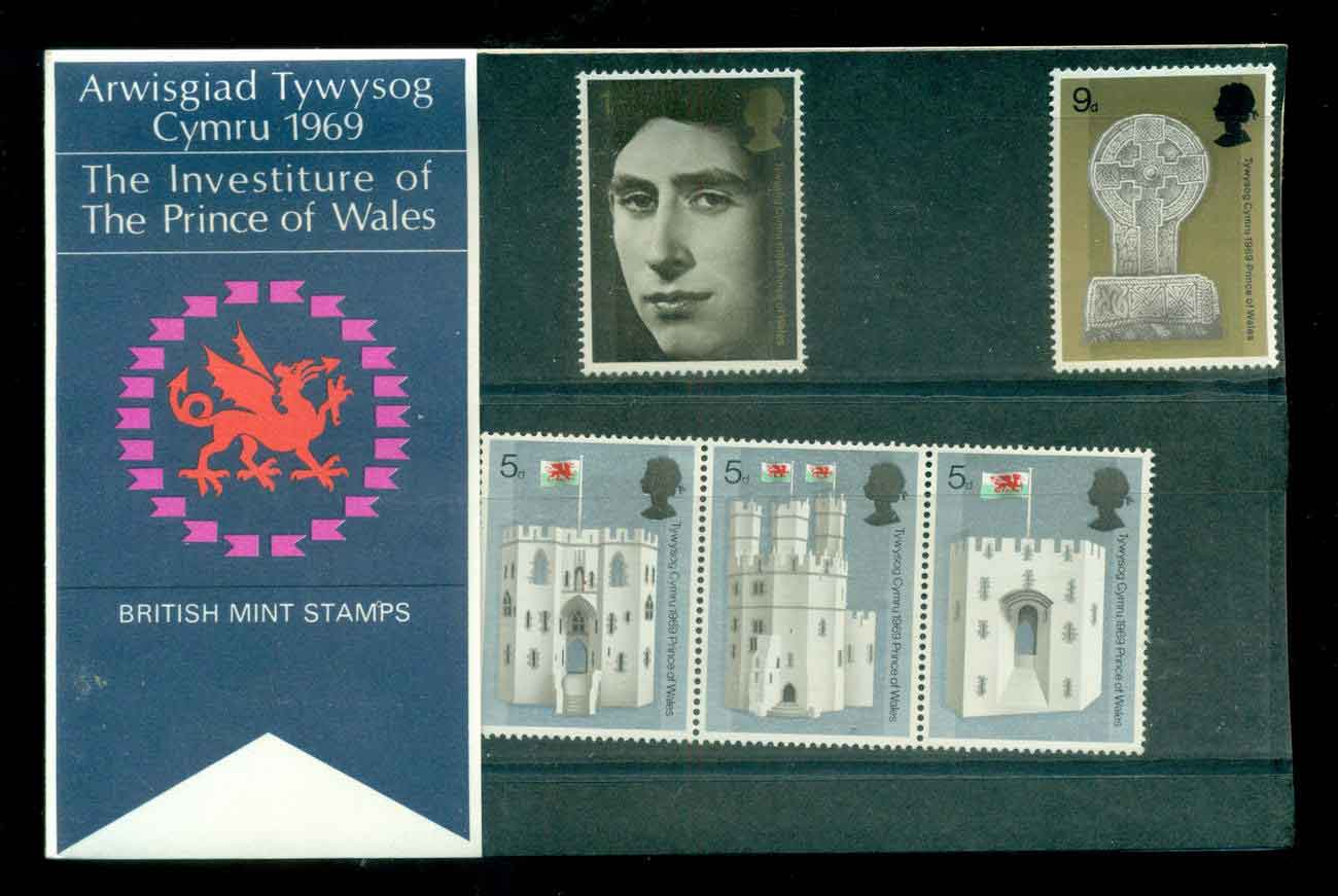 GB 1969 Investiture of Prince of Wales POP lot51751