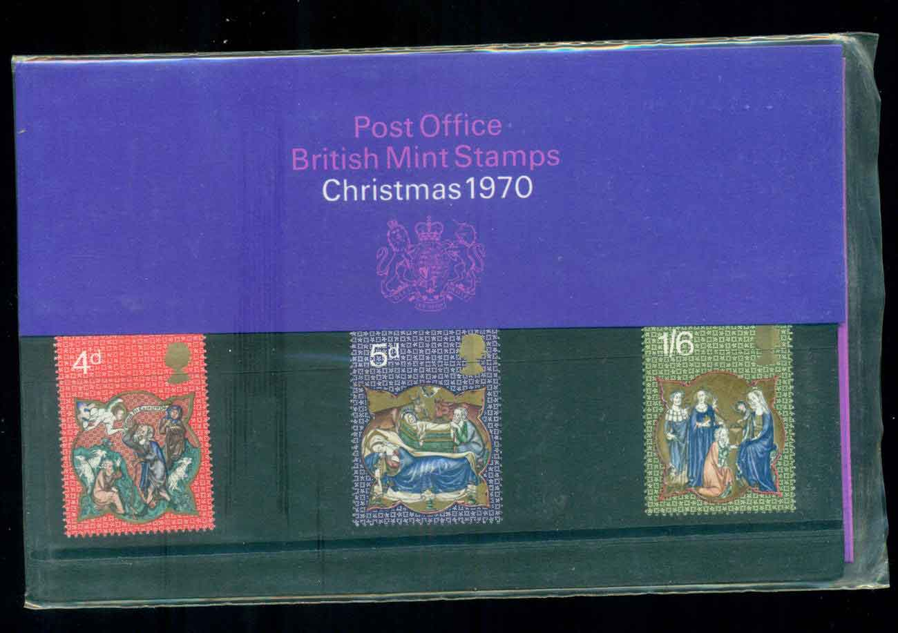 GB 1970 Xmas POP lot517452