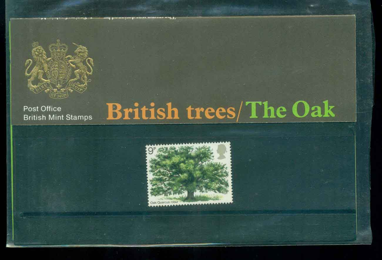 GB 1973 Oak Tree POP lot51757