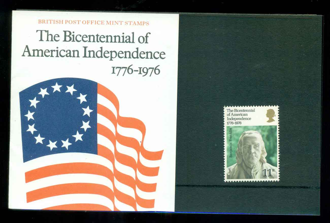 GB 1976 USA Bicentenary POP lot51759