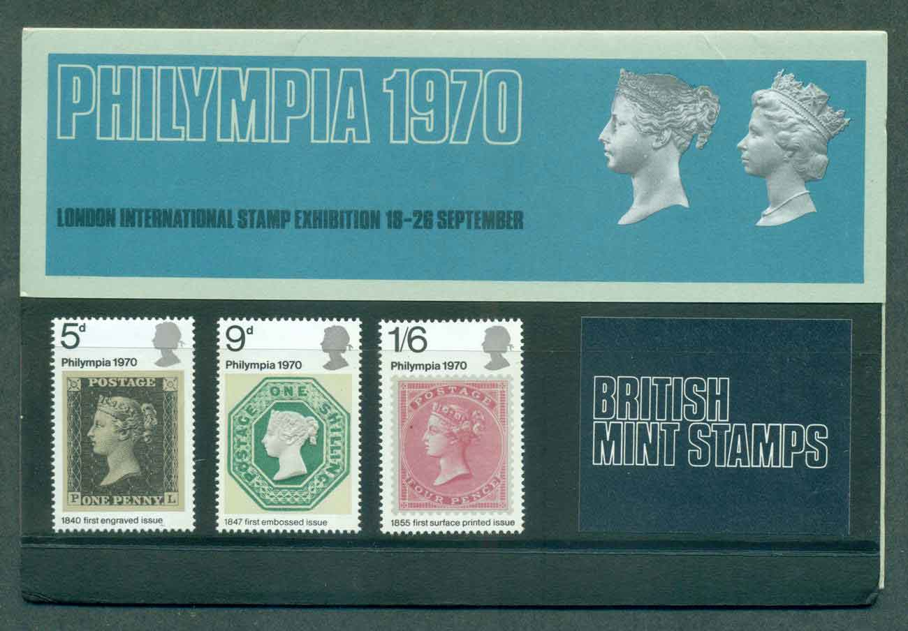 GB 1970 Phylimpia POP lot51761