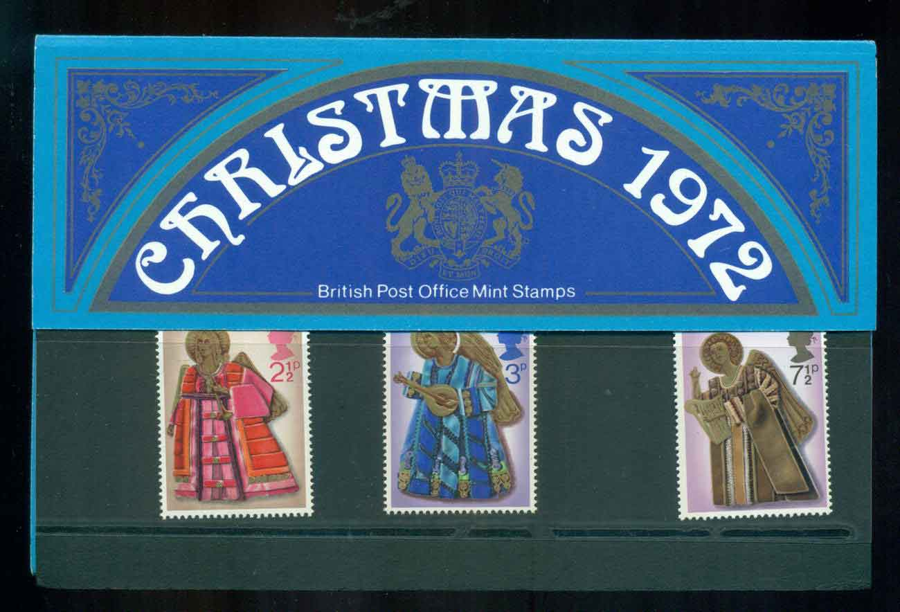 GB 1972 Xmas POP lot51763
