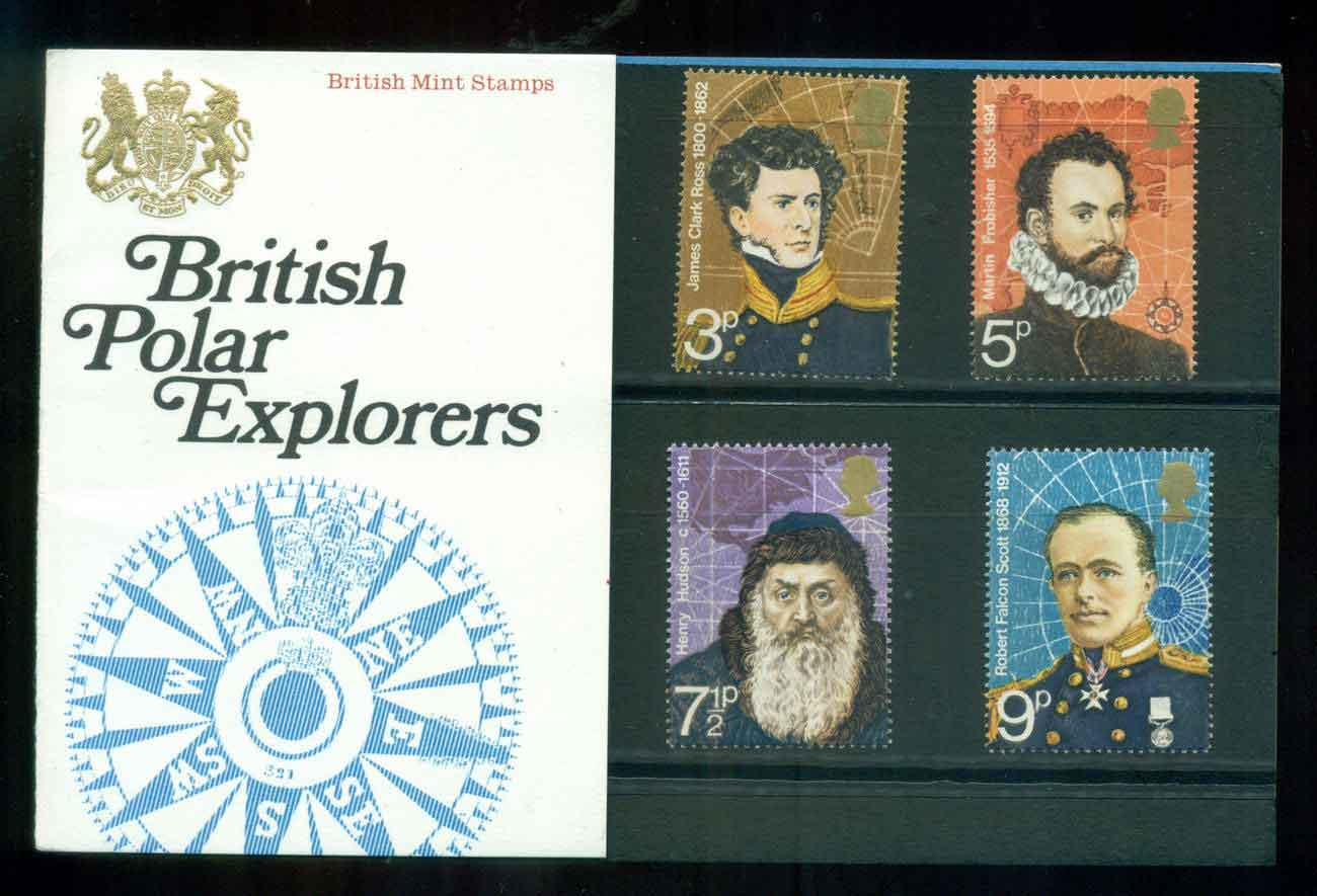 GB 1972 Explorers POP lot51765