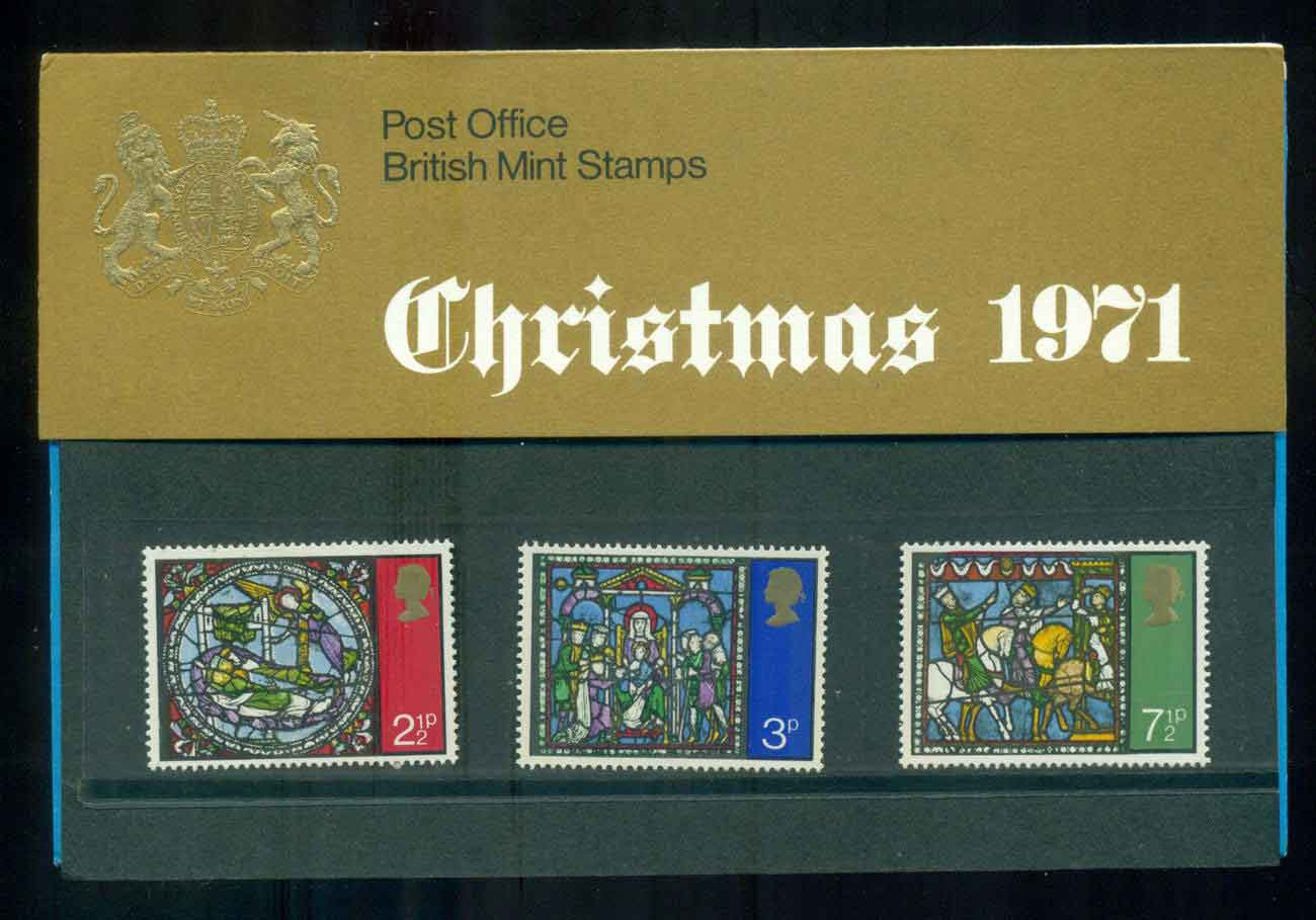 GB 1971 Xmas POP lot51766