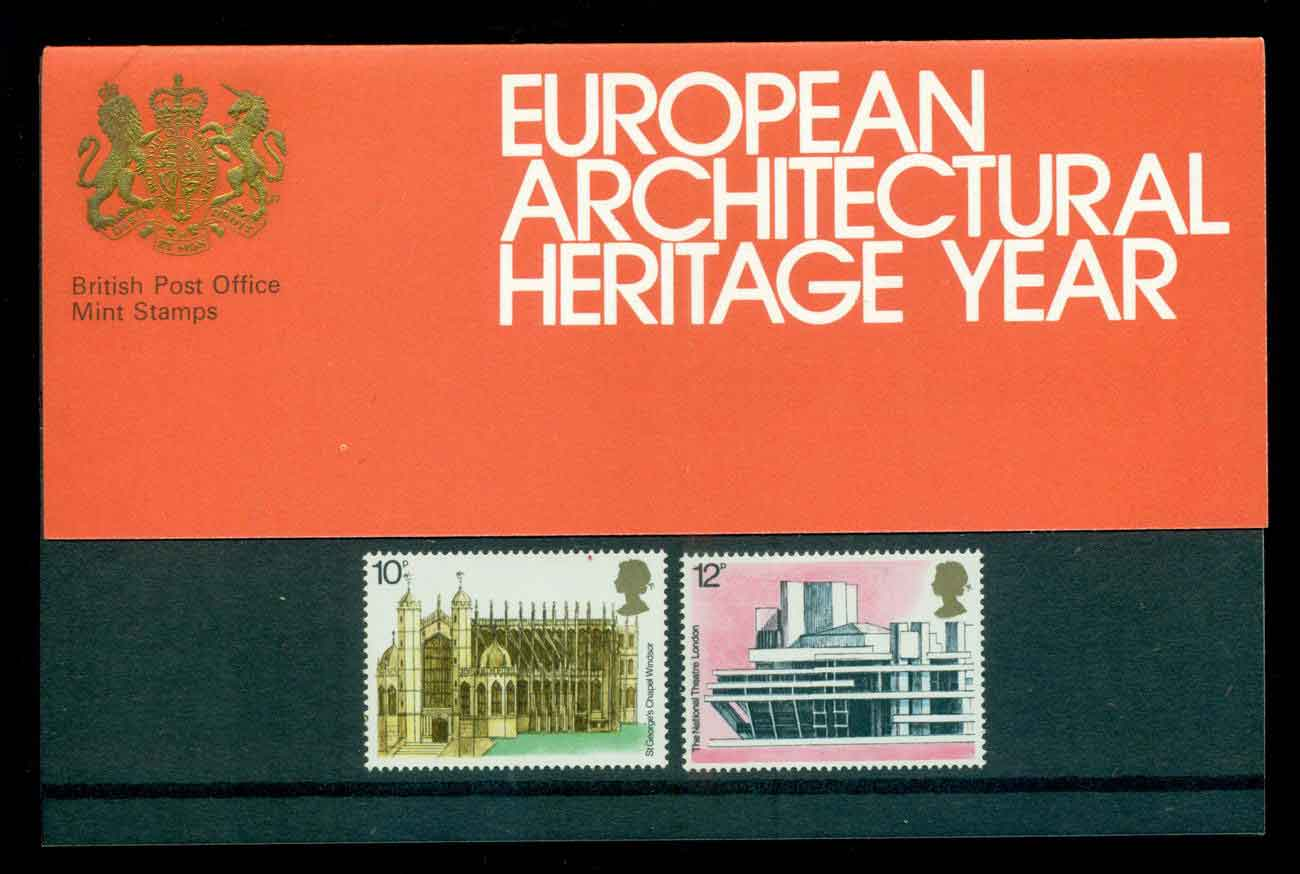 GB 1975 Architecture POP lot51767