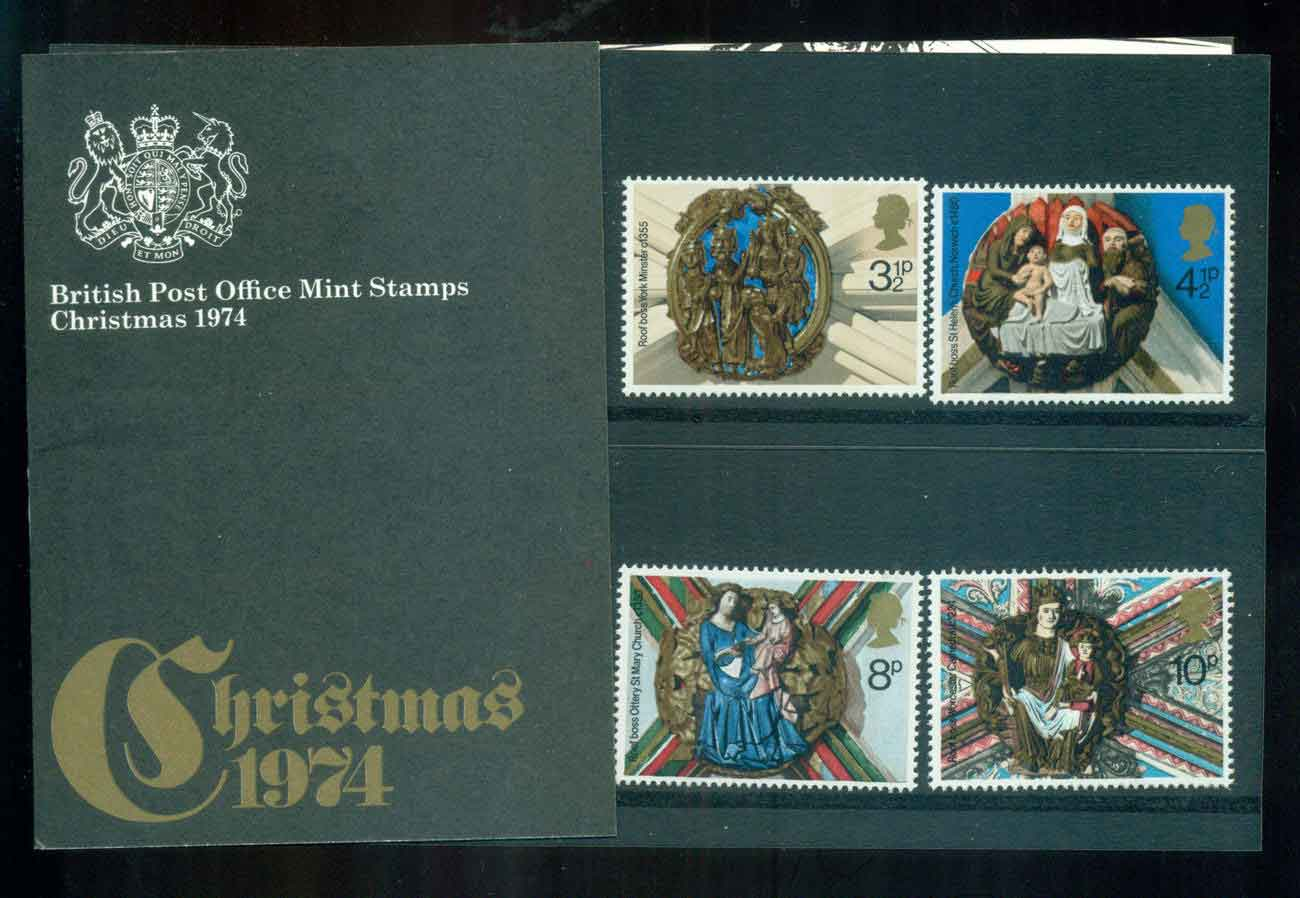 GB 1974 Xmas POP lot51769