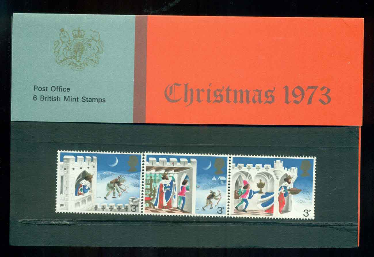 GB 1973 Xmas POP lot51775