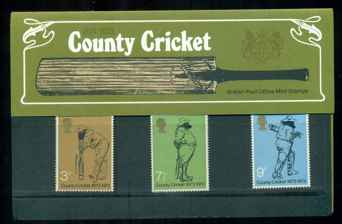 GB 1973 Cricket POP lot51776