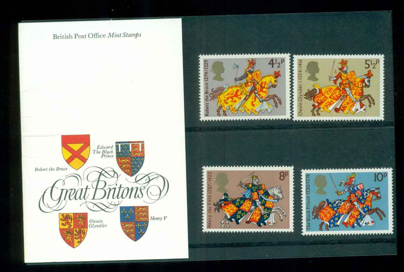 GB 1974 Great Britons POP lot51782