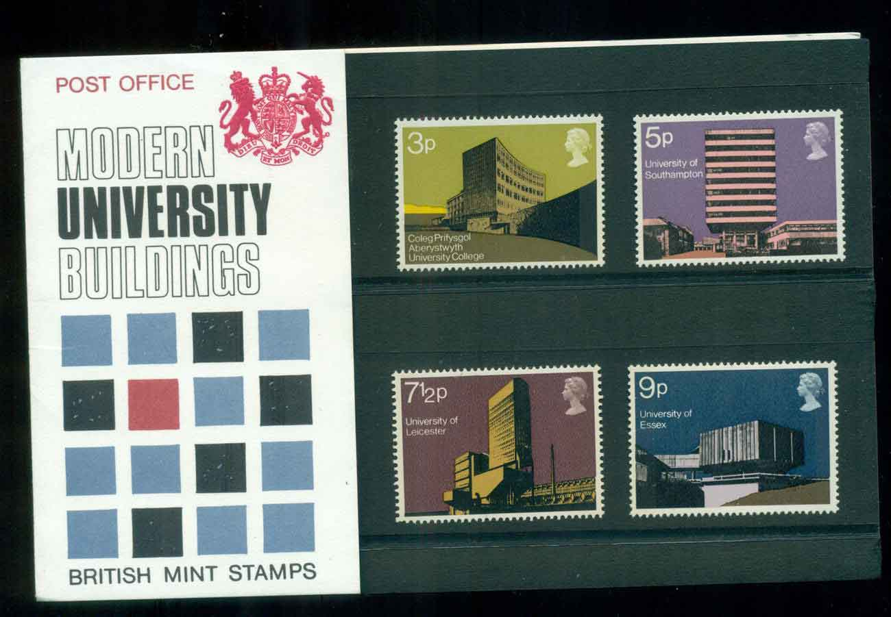 GB 1971 Universities POP lot51784
