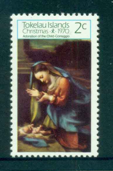 Tokelau Is 1970 Xmas MUH lot52069