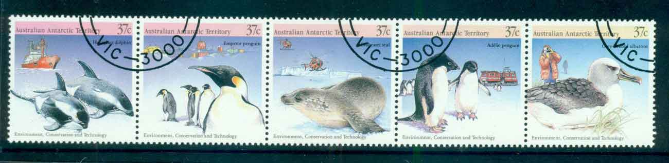 AAT 1988 Environment Wildlife Srt 5 CTO lot52229