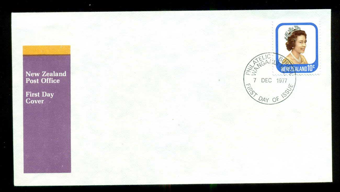 New Zealand 1977 Definitive 10c FDC lot52673