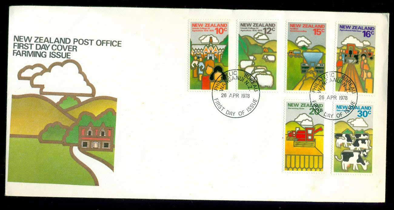 New Zealand 1978 Land Resources (tones) FDC lot52683