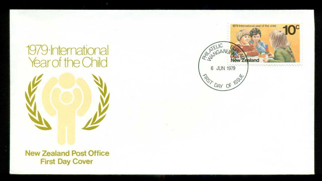 New Zealand 1979 IYC International year of the Children FDC lot52689
