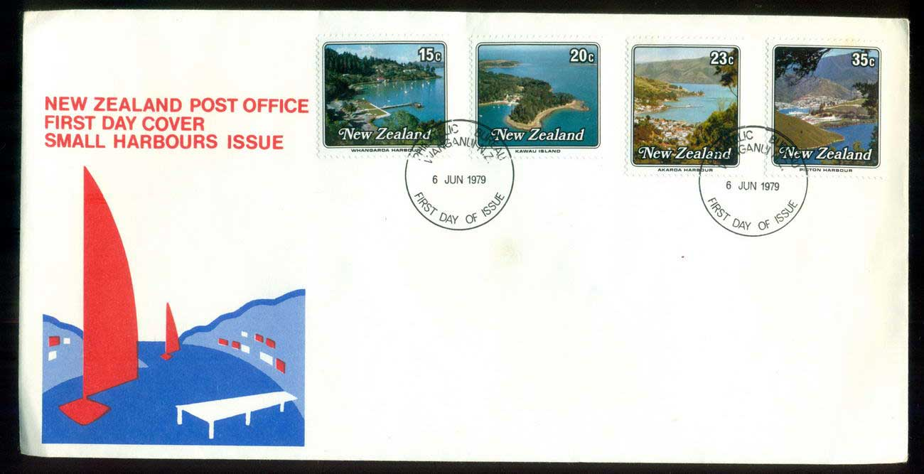 New Zealand 1979 Small Harbours FDC lot52692