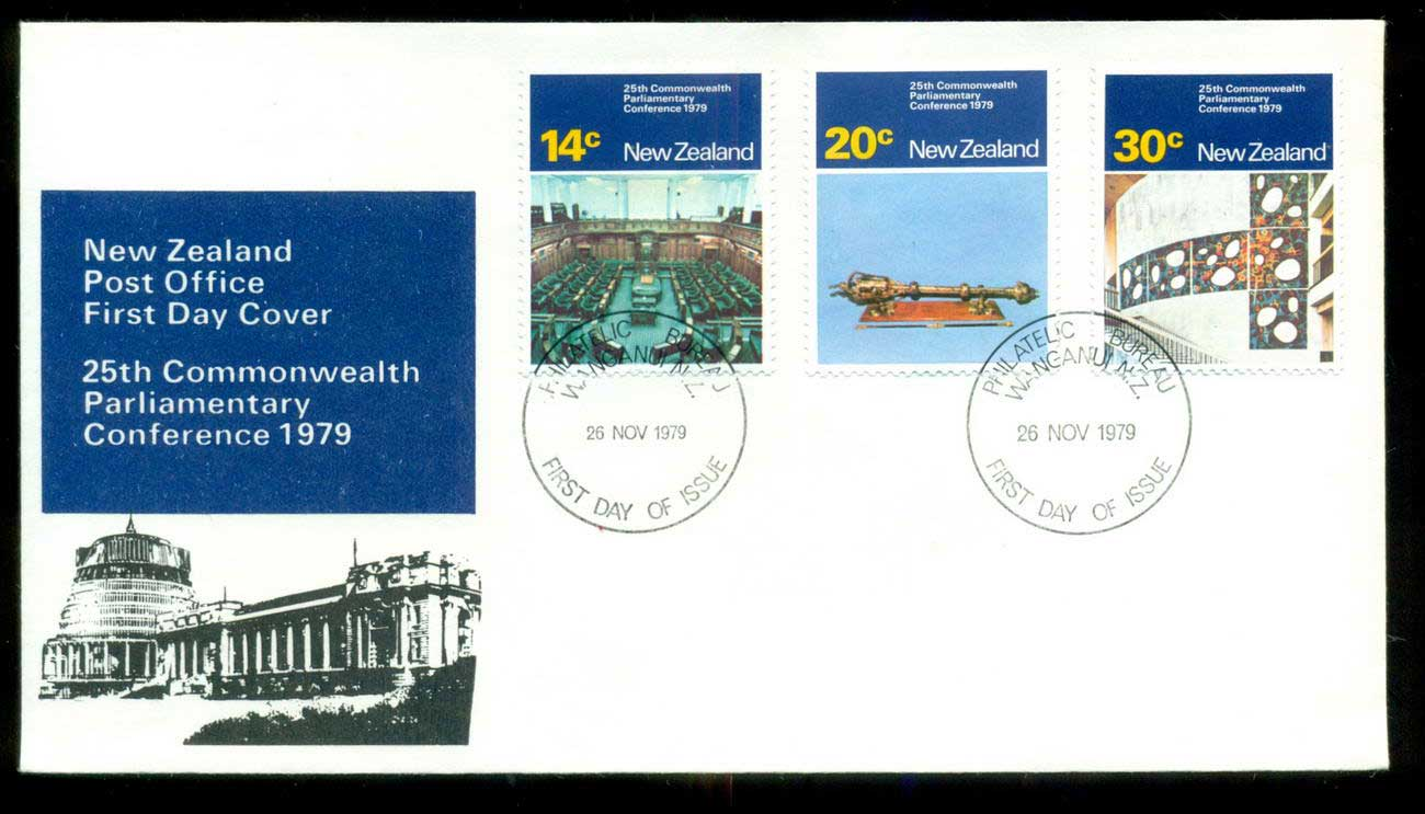 New Zealand 1979 Parliamentary Conference FDC lot52693