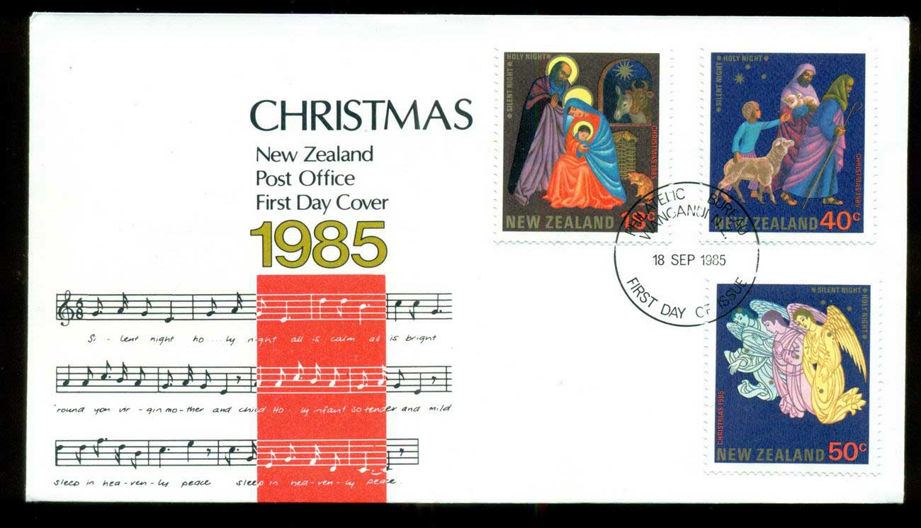 New Zealand 1985 Xmas FDC lot52731