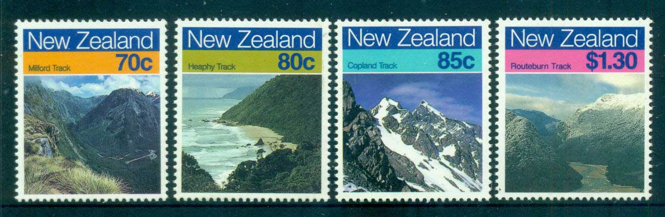 New Zealand 1988 Landscapes MUH lot53137