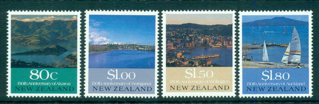 New Zealand 1990 Early Settlements MUH lot53149