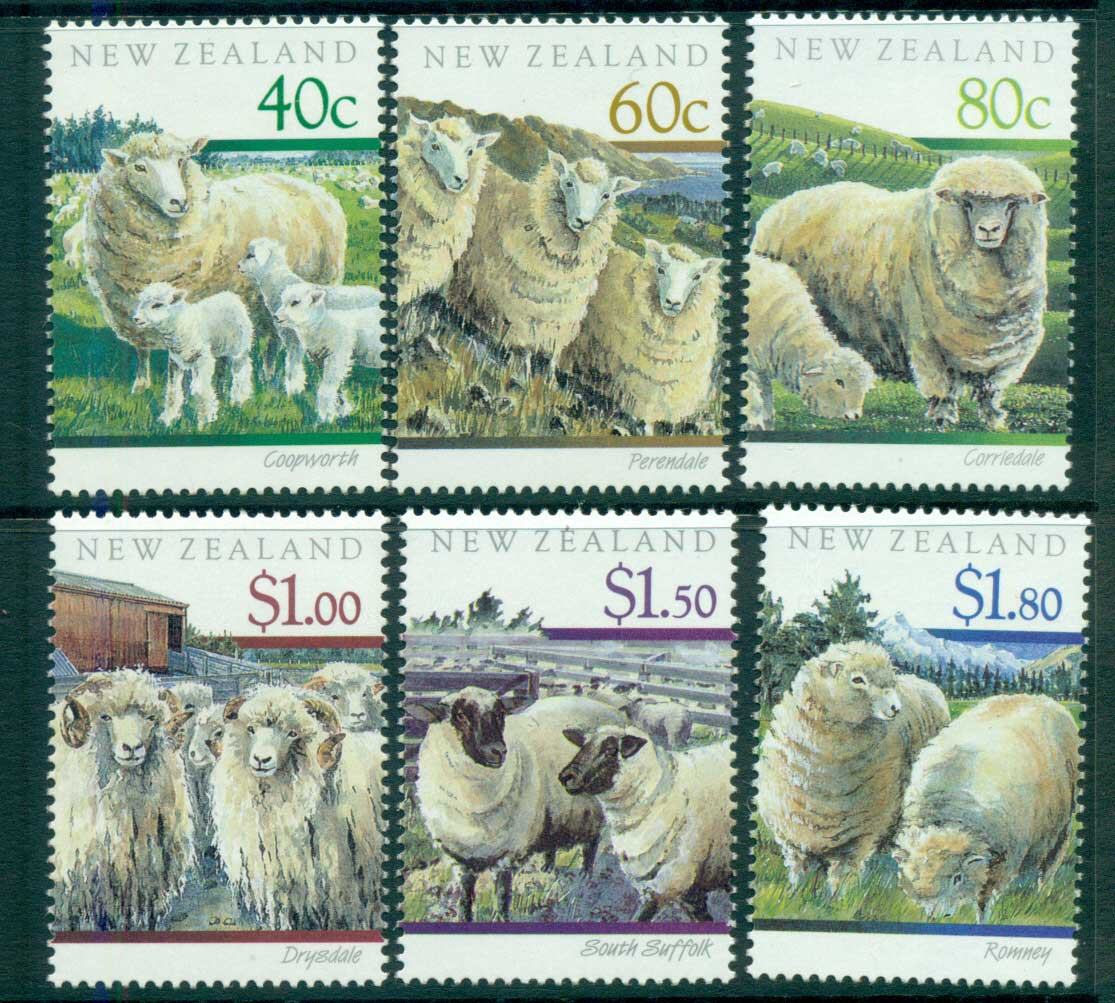 New Zealand 1991 Sheep MUH lot53154