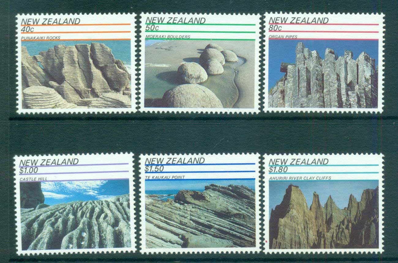 New Zealand 1991 Rock Formations MUH lot53155