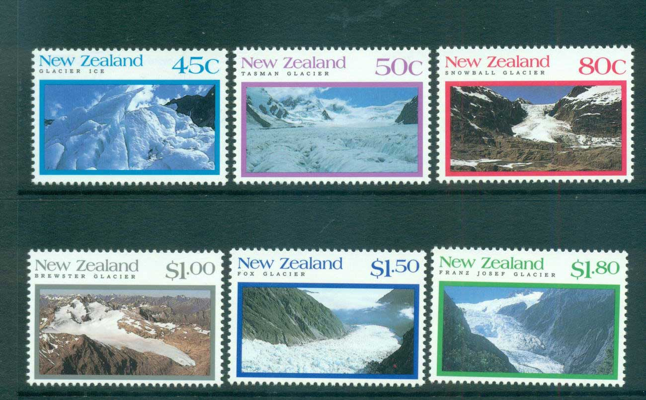 New Zealand 1992 Glaciers MUH lot53166