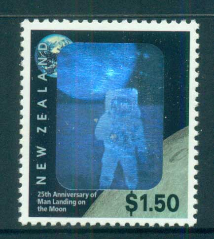 New Zealand 1994 First Manned Moon landing MUH lot53188
