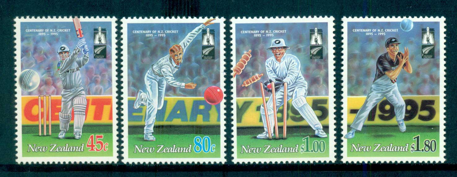 New Zealand 1994 Cricket in New Zealand MUH lot53191