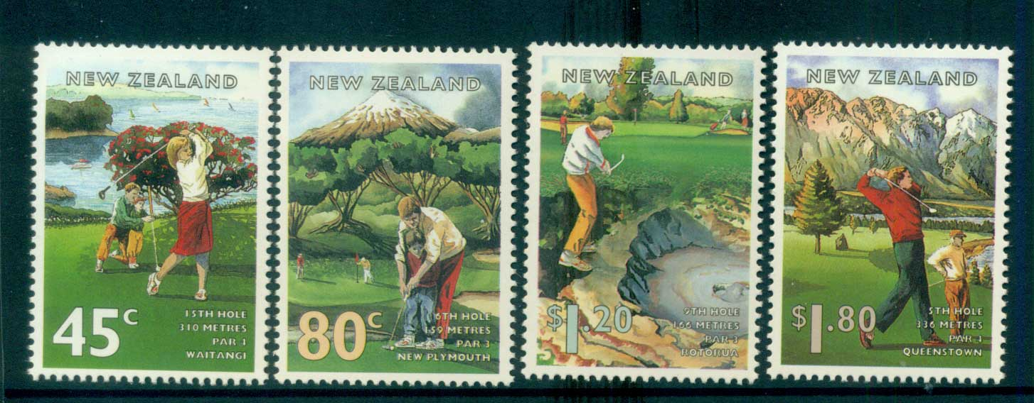New Zealand 1995 Golf Courses MUH lot53193