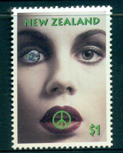 New Zealand 1995 Nuclear Disarmament MUH lot53198