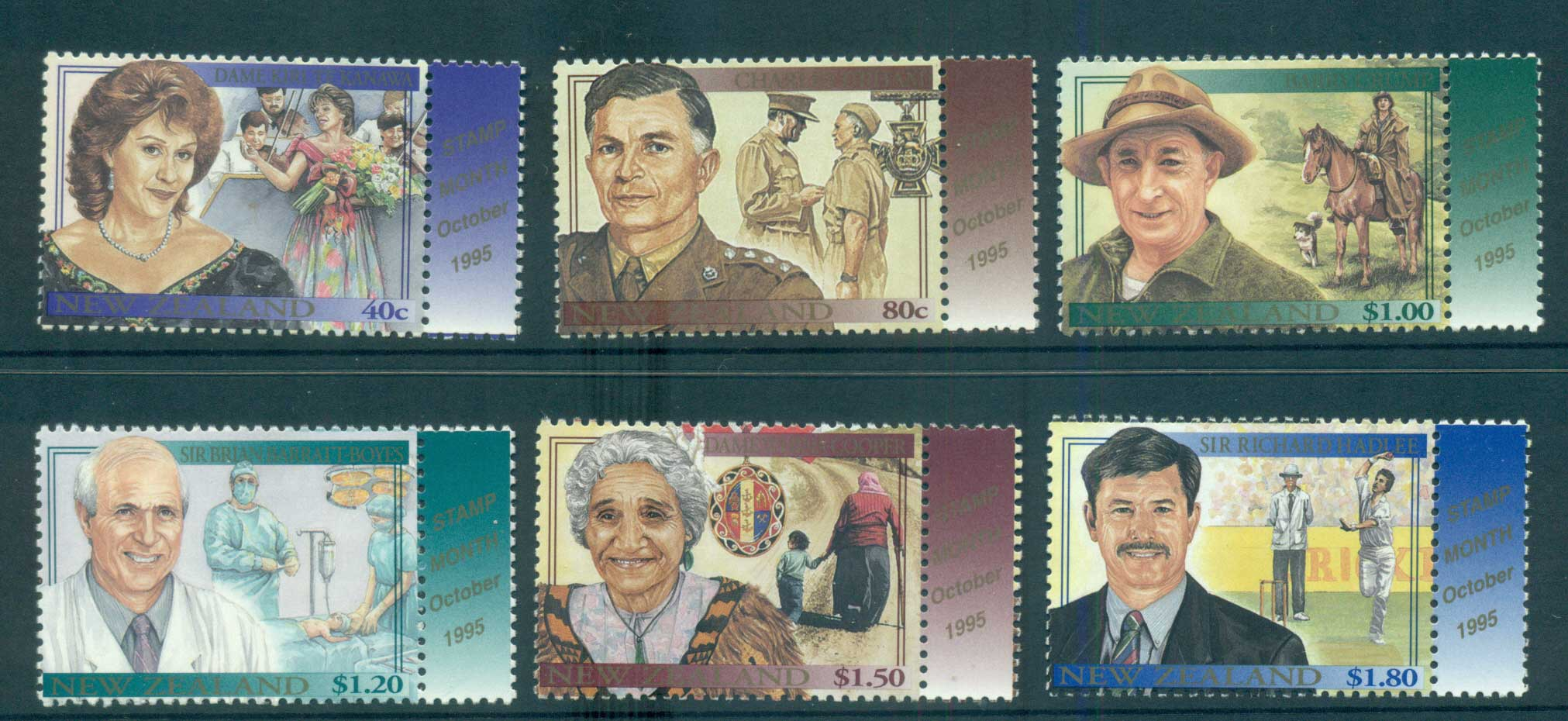 New Zealand 1995 Famous Living New Zealanders MUH lot53206
