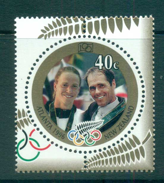 New Zealand 1996 Atlanta Olympics Winners MUH lot53219