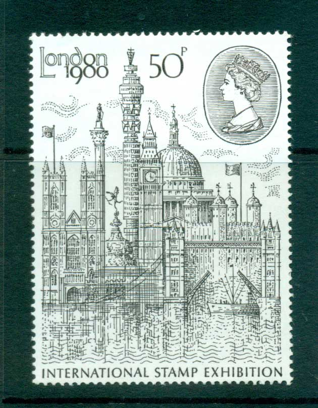 GB 1980 London 1980 Stamp Exhibition MLH lot53288