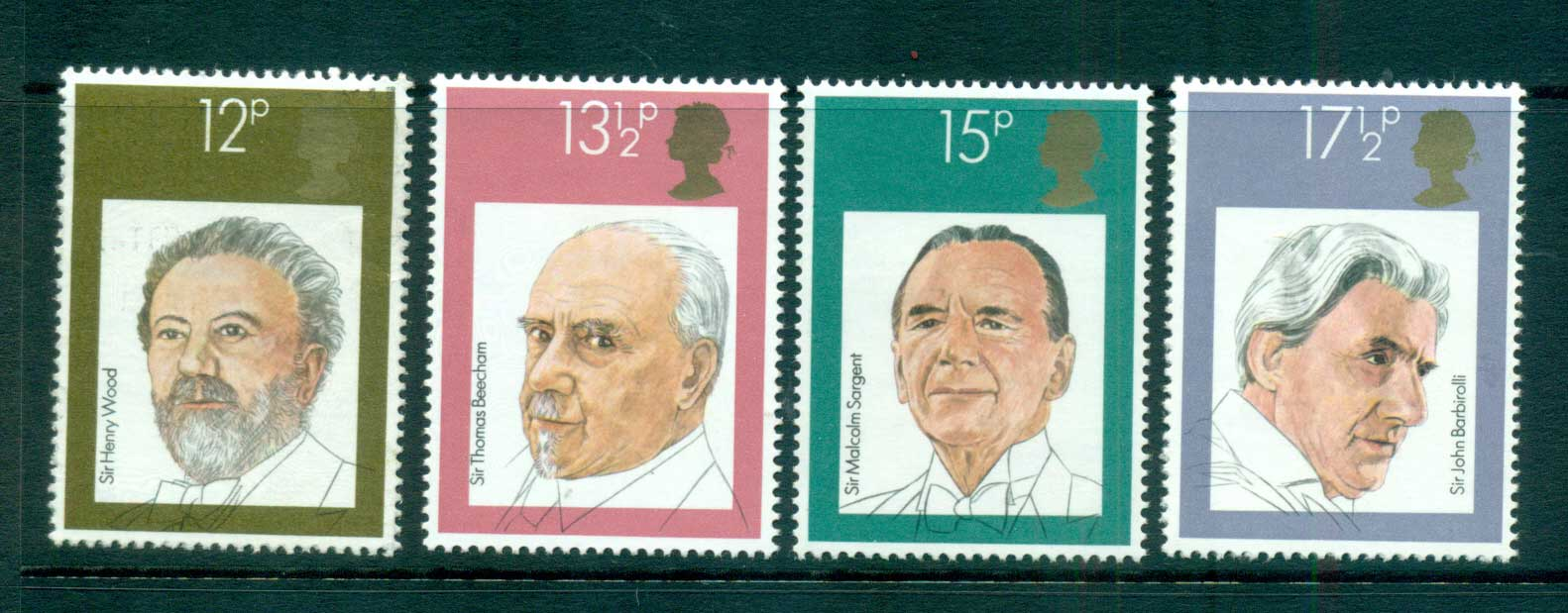 GB 1980 English Conductors MLH lot53293
