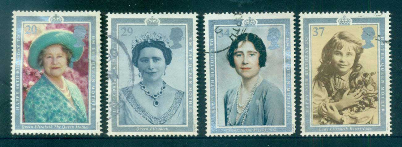 GB 1990 Queen Mother 90th Birthday FU lot53443