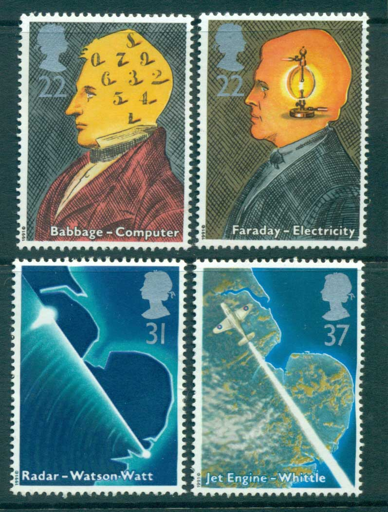 GB 1991 Scientists & their Technology MLH lot53452