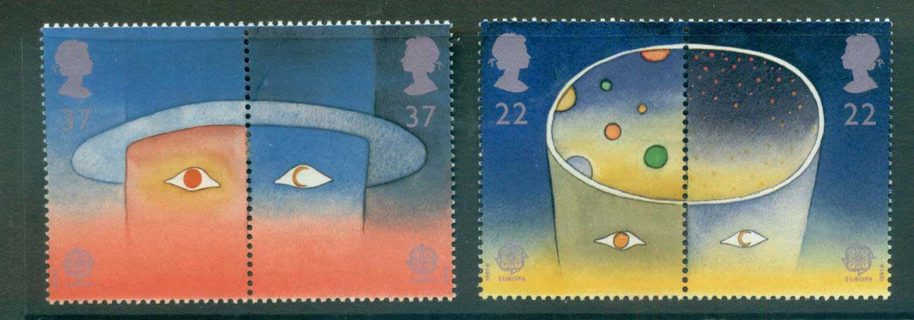 GB 1991 Europa MLH lot53453