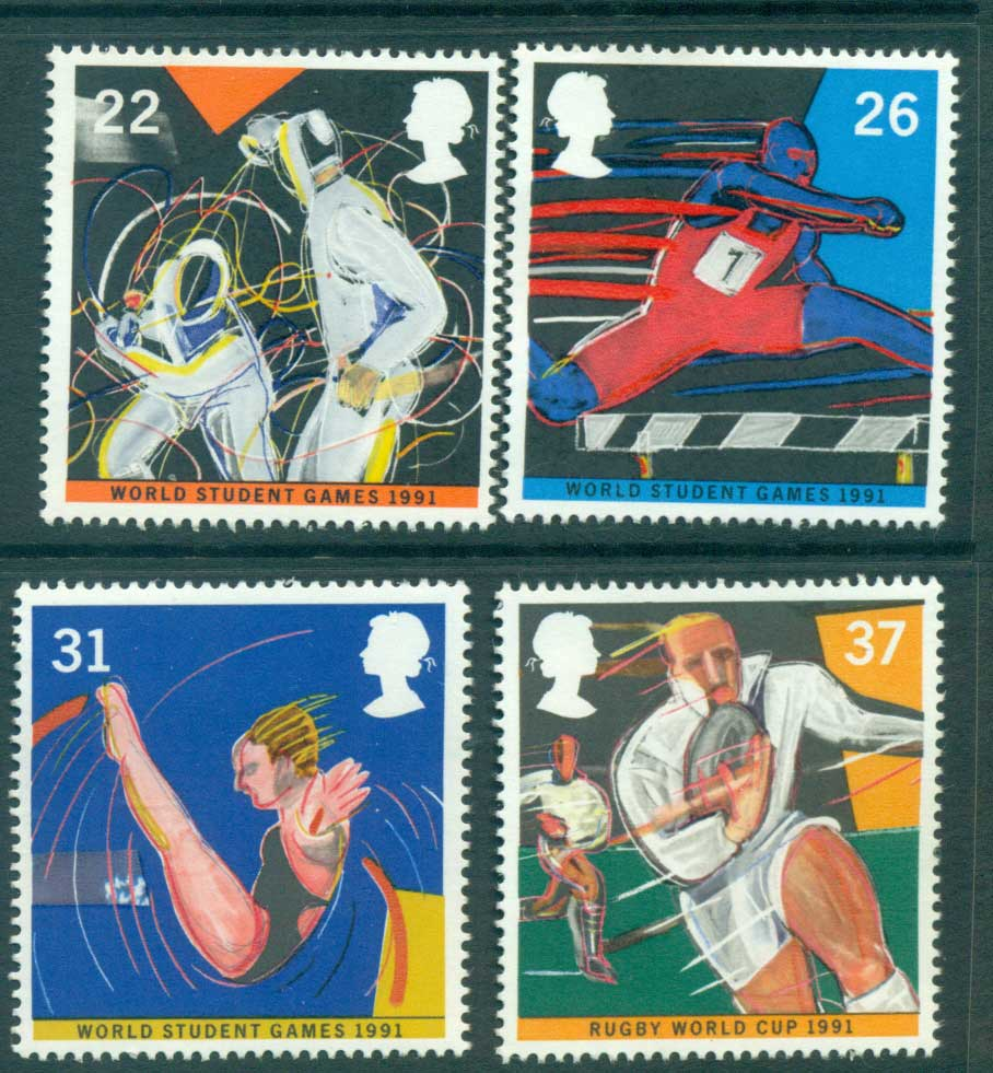 GB 1991 World Student Games, Sports MLH lot53455