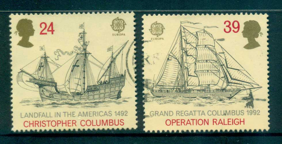 GB 1992 Discovery of America FU lot53473