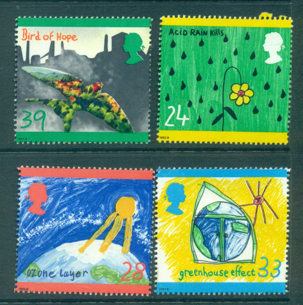 GB 1992 Protect the Environment MLH lot53479