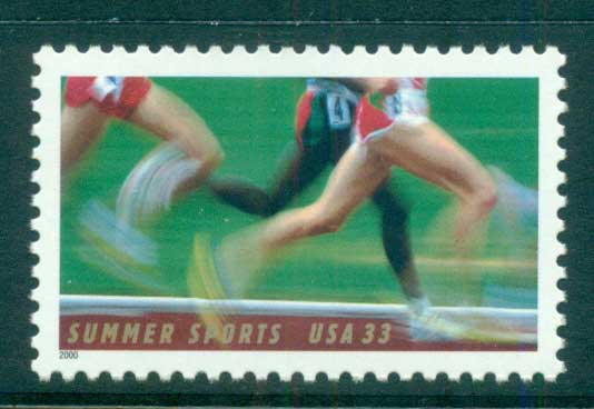 USA 2000 Sc#3397 Summer Sports Runners MUH lot53645