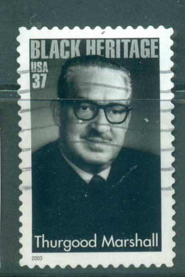 USA 2003 Sc#3746 Thurgood Marshall FU lot53864