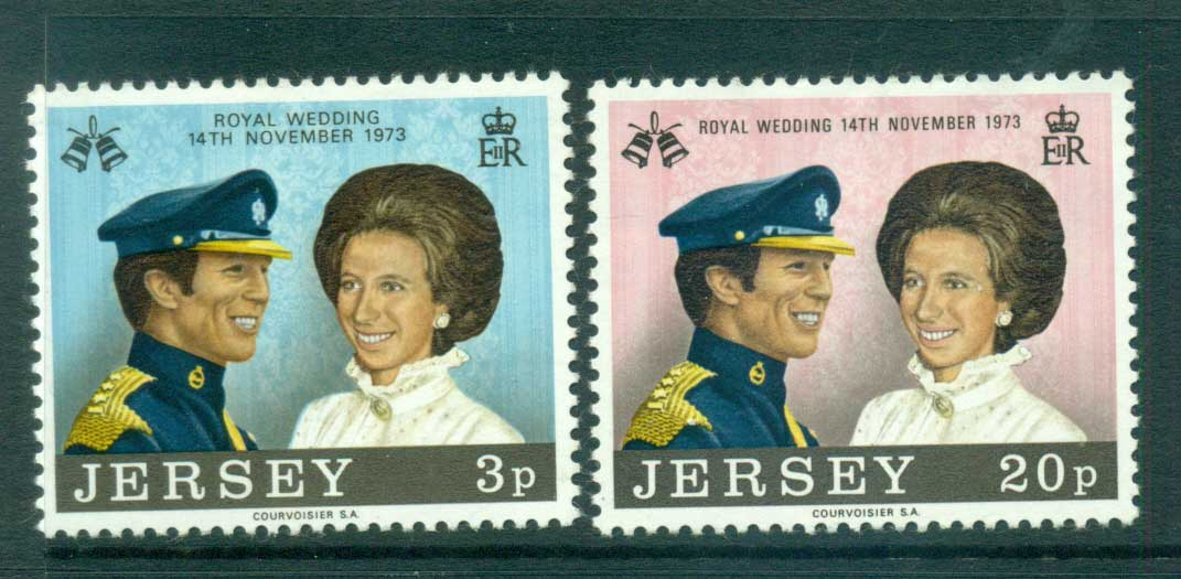 Jersey 1973 Royal Wedding Princess Anne MLH lot54067