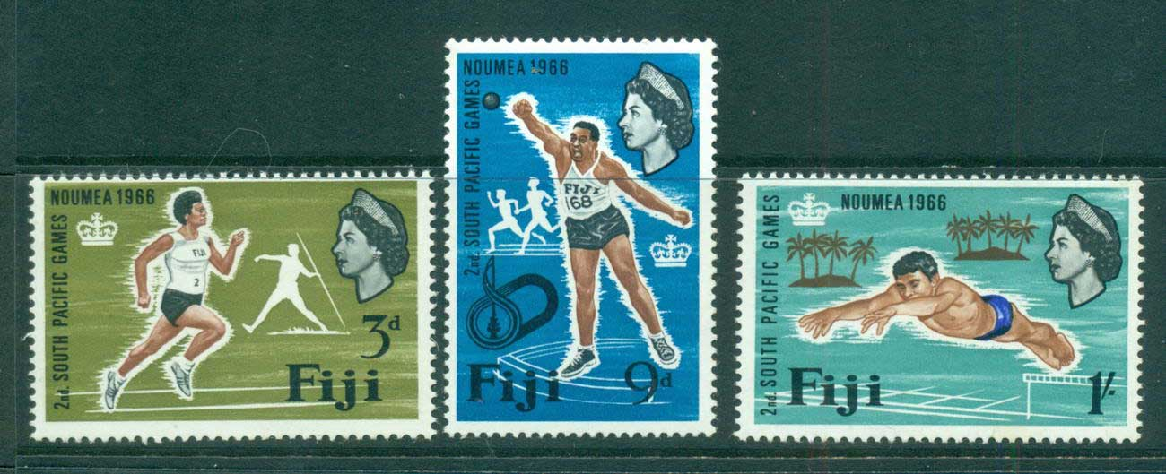 Fiji 1966 South Pacific Games MLH lot54288