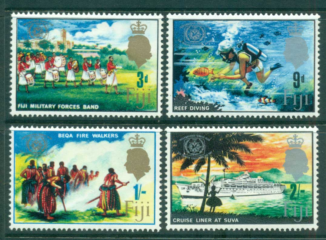 Fiji 1967 Tourism Year MLH lot54289