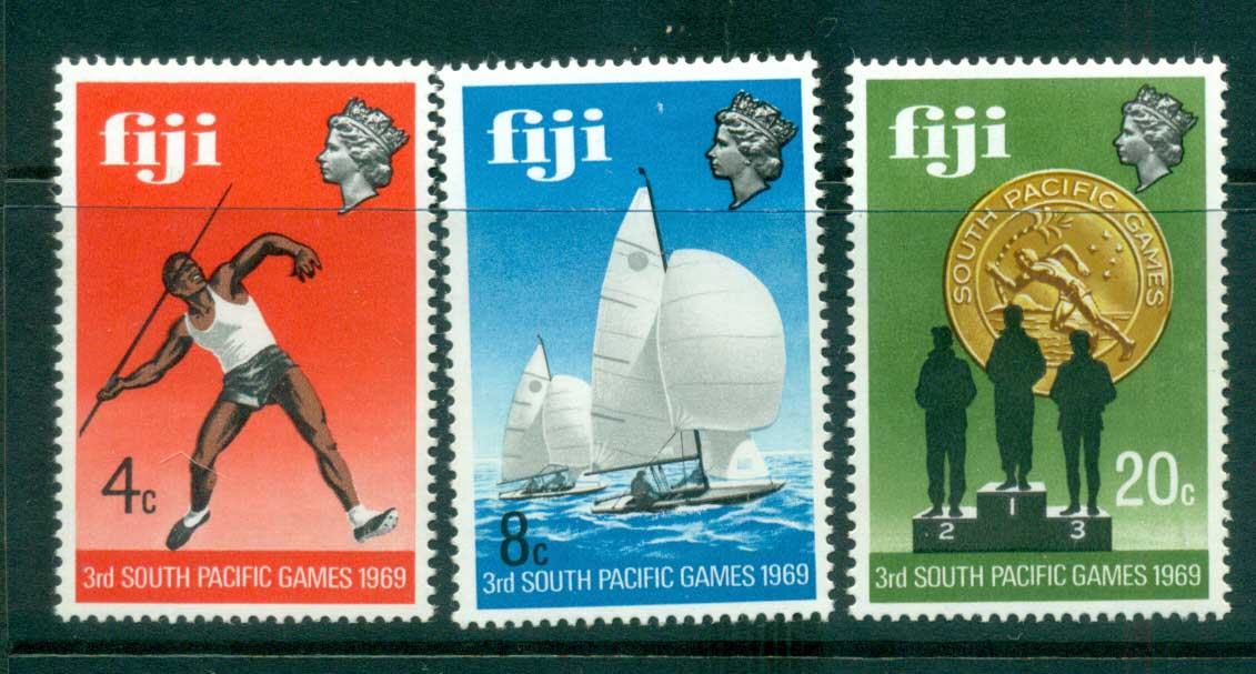 Fiji 1969 South Pacific Games MUH lot54297